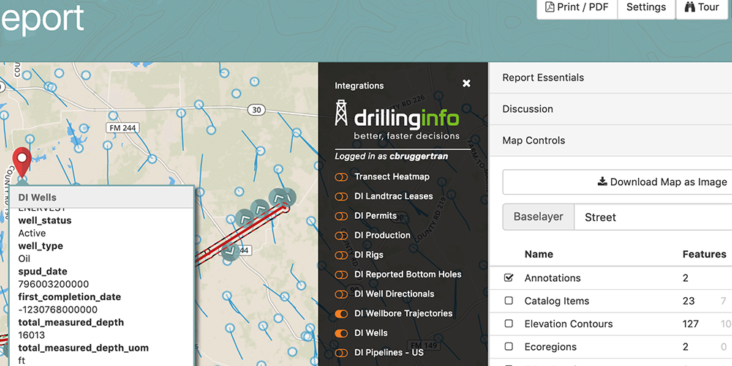 Transect & Drillinginfo Partner to Improve Environmental Due Diligence for the Energy Market